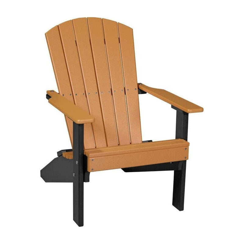 Lakeside Adirondack Chair Tangerine & Black