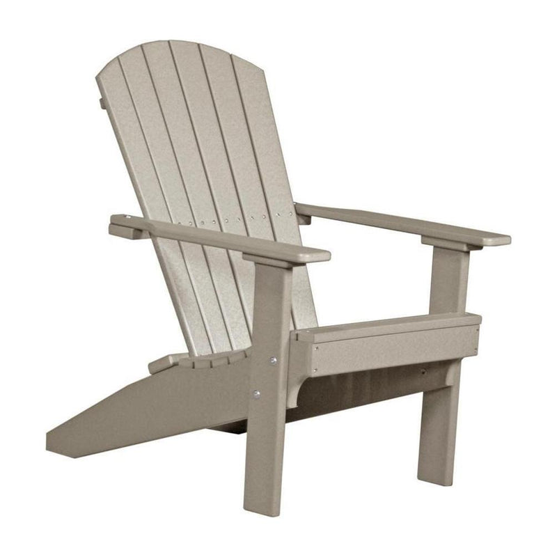 Lakeside Adirondack Chair Weatherwood
