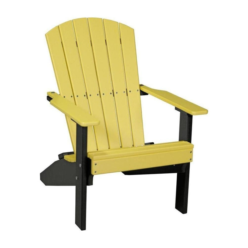 Lakeside Adirondack Chair Yellow & Black
