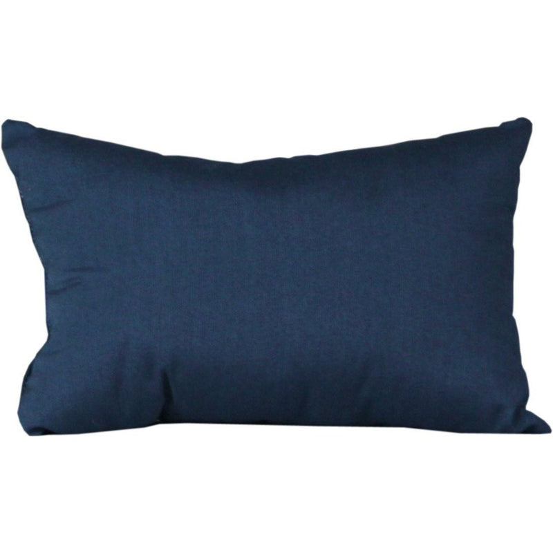 Outdoor Lumbar Pillow Spectrum Indigo
