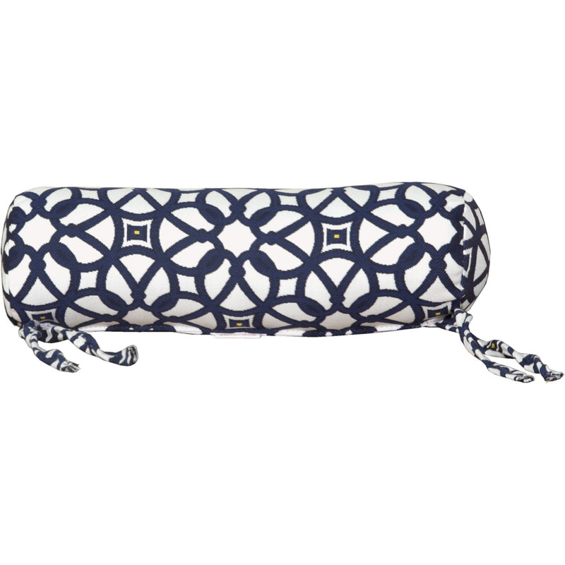 Outdoor Neck Pillow Luxe Indigo