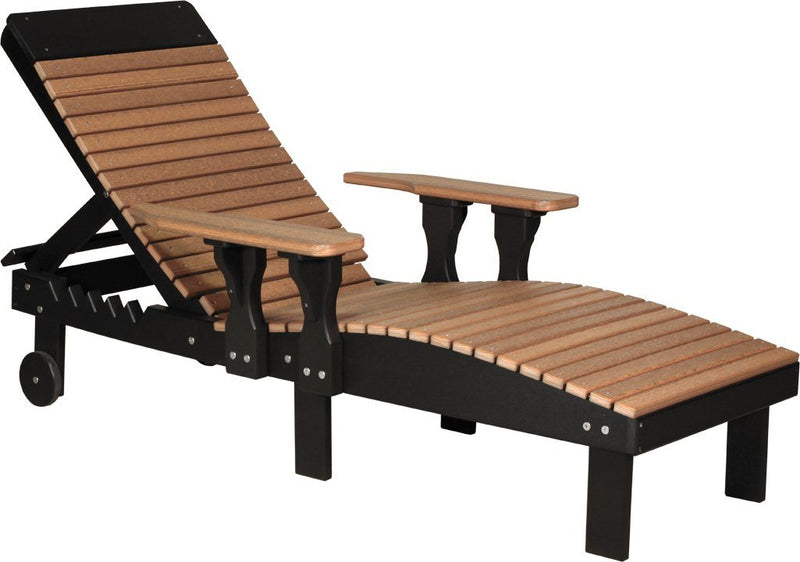 Outdoor Poly Lounge Chair