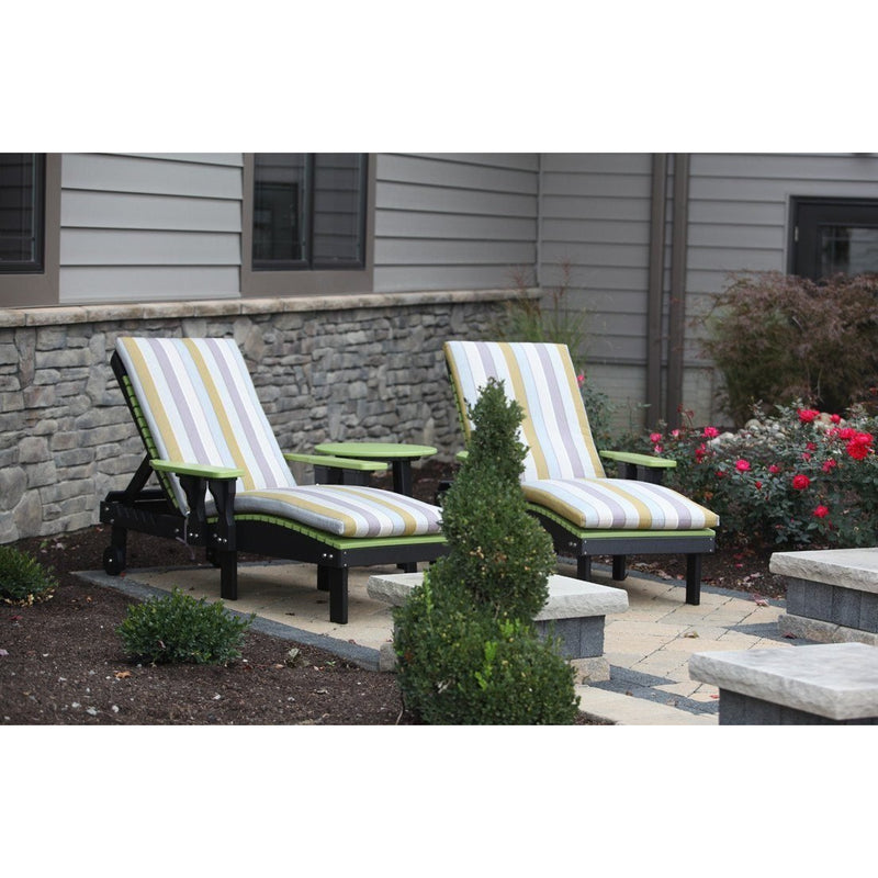 Outdoor Poly Lounge Chair-Outdoor-The Amish House