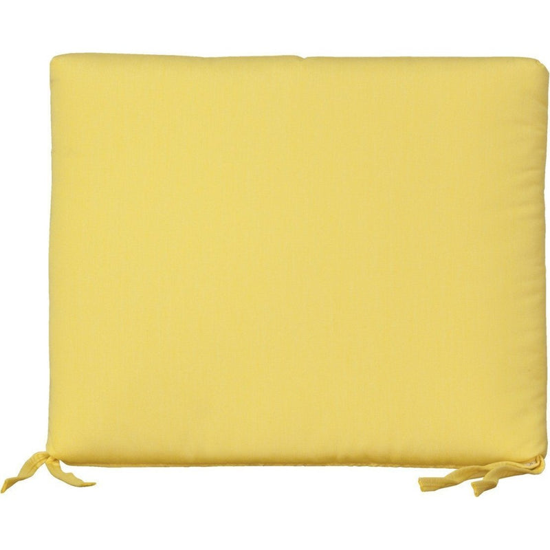 Outdoor Rocker Seat Cushion Buttercup