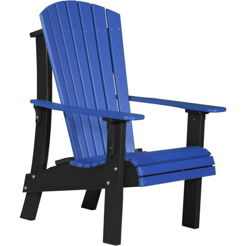 Royal Adirondack Chair Blue U0026 Black