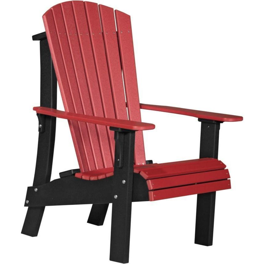Royal Adirondack Chair Red U0026 Black