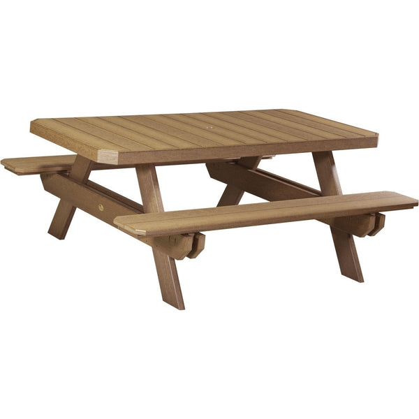 Luxcraft PolyTuf 6' Outdoor Picnic Table