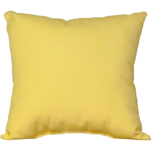 Outdoor Toss Pillow Buttercup