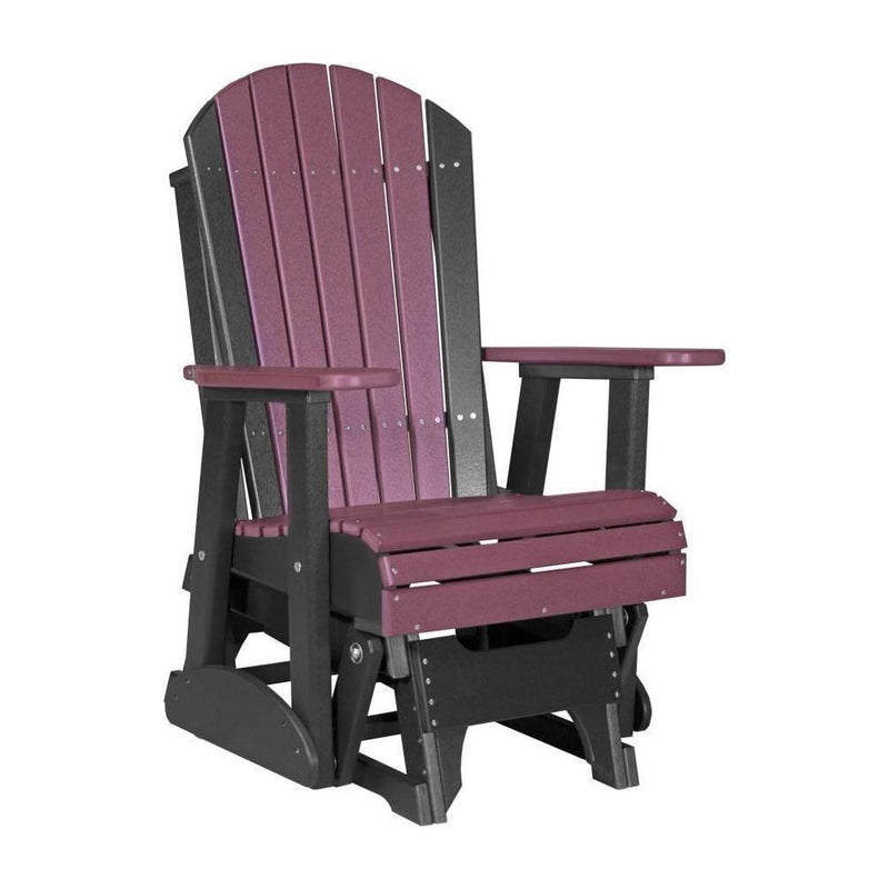 Adirondack Glider Chestnut Brown