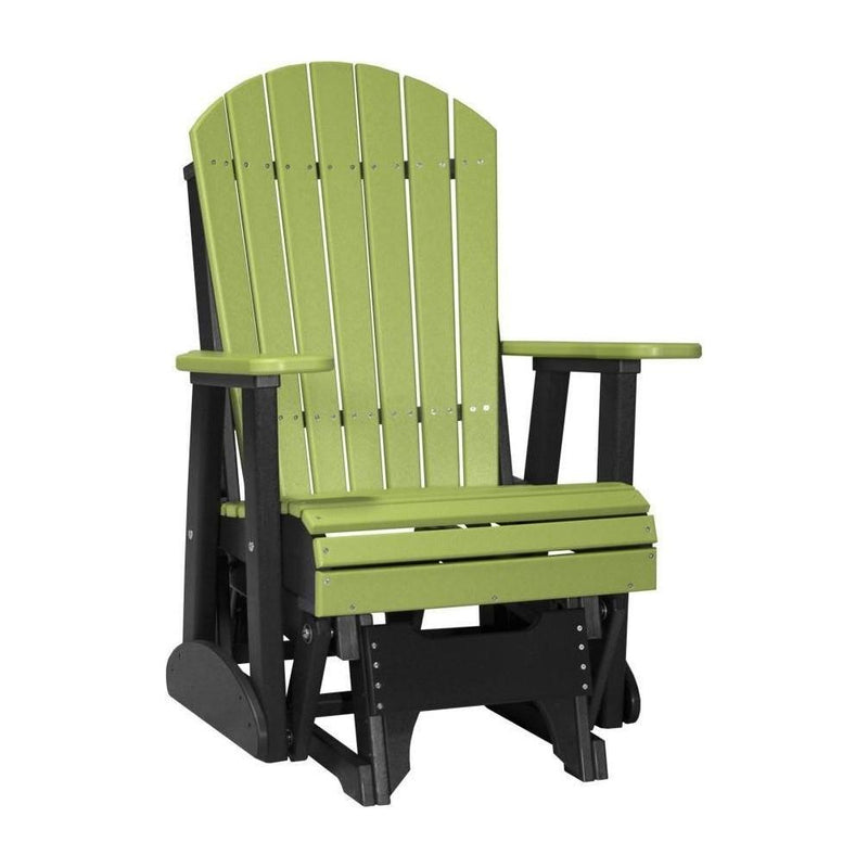 Adirondack Glider Lime Green & Black