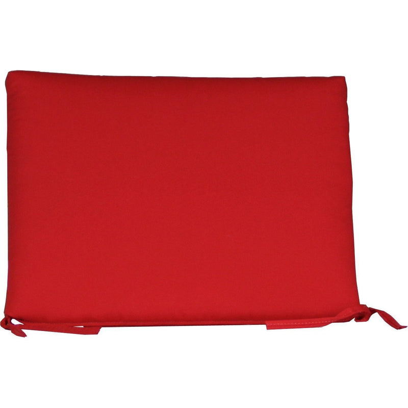 Outdoor 2' Seat Cushion Logo Red