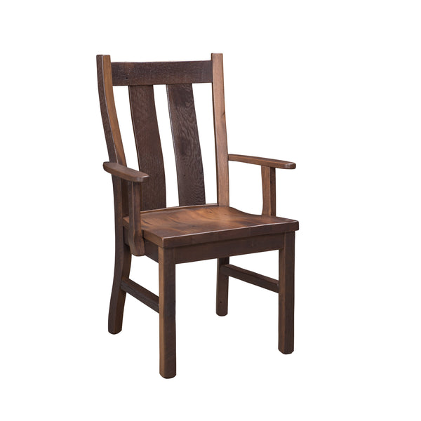 oxford reclaimed barnwood chair