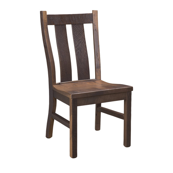 oxford reclaimed barnwood side chair