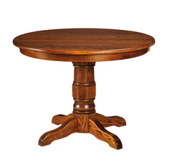 Preston-Single-Pedestal- Table-The Amish House