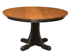 Ridgewood-Mission-Single-Pedestal- Table-The Amish House