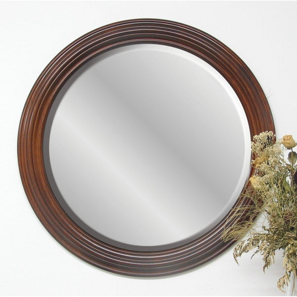 Round Molding Wall Mirror