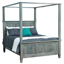 Savannah Canopy Bed-Bedroom-The Amish House