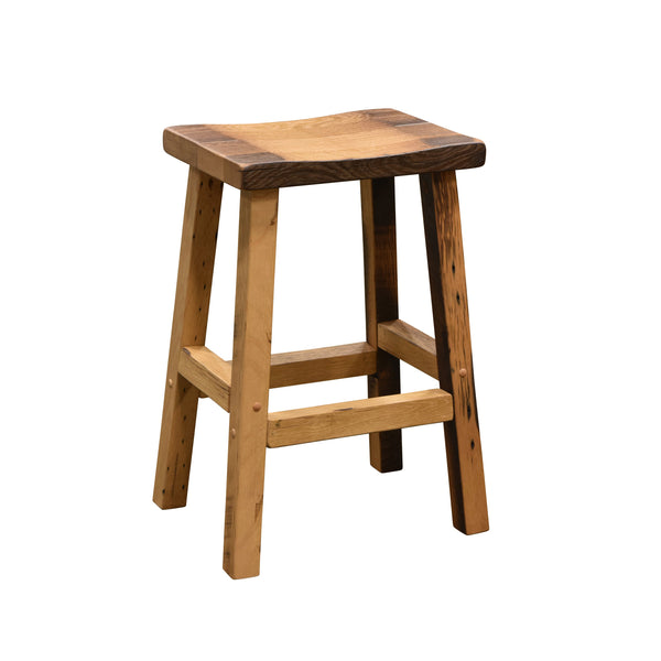 Amish Barnwood Bar Stool