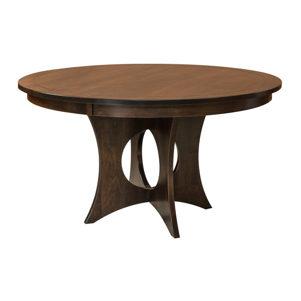 Amish Silverton Pedestal Table-The Amish House