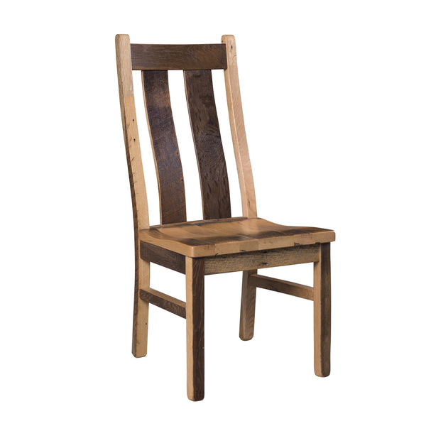 Amish Stratford Reclaimed Barnwood Chairs