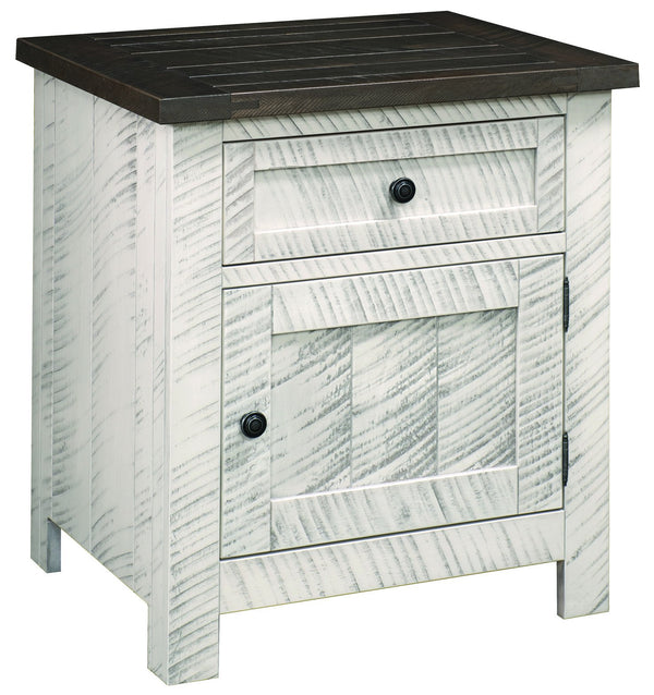 Timberlake One Drawer Nightstand-Bedroom-The Amish House