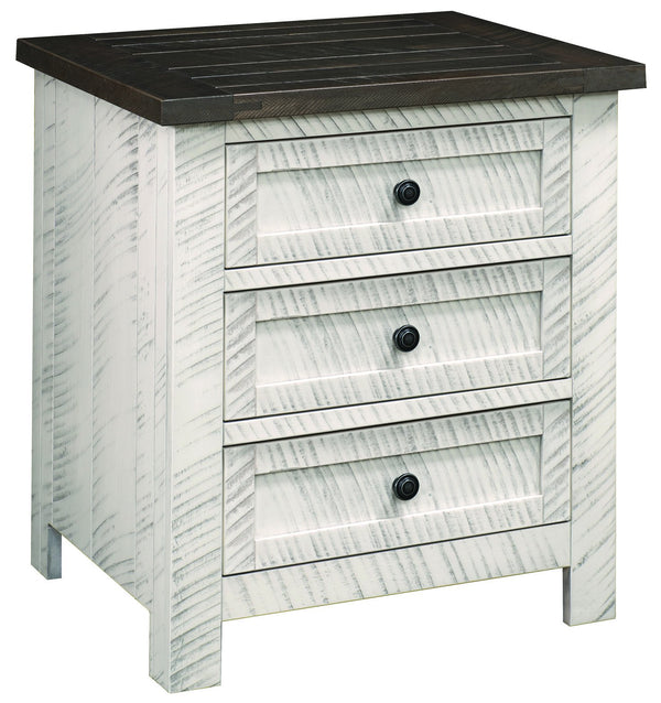 Timberlake Three Drawer Nightstand