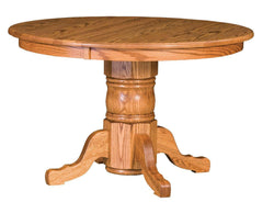 Traditional Single-pedestal Table-The Amish House