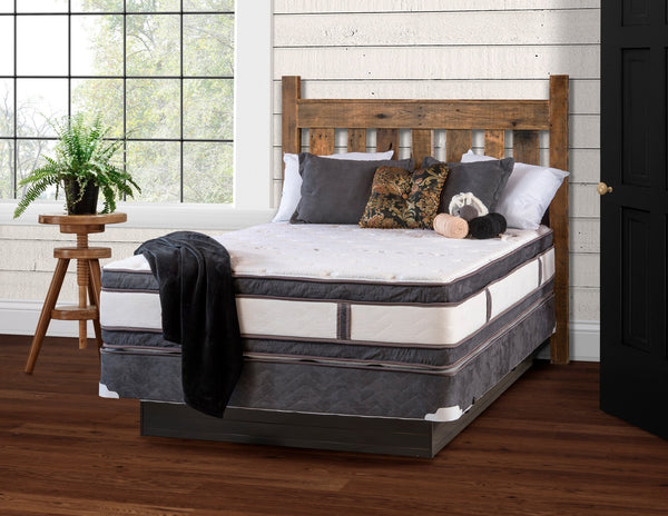 Ultra Pillowtop Foam Two-Sided Mattress-The Amish House