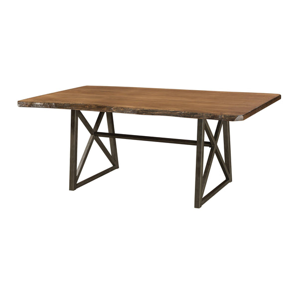 Amish Yukon Trestle Table-The Amish House