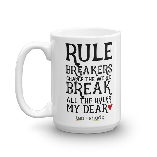 Rule Breakers 15 Ounce Mug