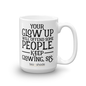 Offensive Glow Up 15 Ounce Mug