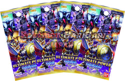 Digimon Trading Card Game - 4 Packs of ULTIMATE POWER [BT-02]