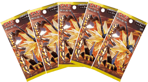 Pokemon Trading Card Game - 5 Packs of Ultra Prism (Ultra Sun)
