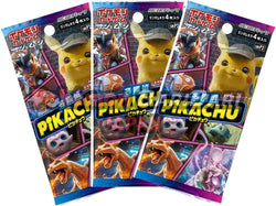 Pokemon Trading Card Game - 3 Packs of Detective Pikachu