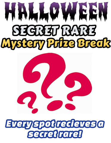 Pokemon Trading Card Game - HALLOWEEN SECRET RARE Mystery Prize Break #4 - Every spot receives an ultra rare card!