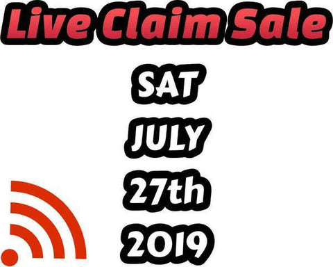 megaht - Pokemon BariBari Japan Live Claim Sale 07/28/2019