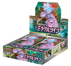 Pokemon Trading Card Game - Miracle Twin SM11 Personal Box Break