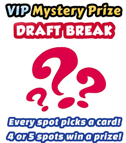 Pokemon Trading Card Game - VIP Mystery Prize Draft Break #1 - Every spot chooses a card!