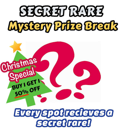 Pokemon Trading Card Game - SECRET RARE Mystery Prize Break #4 - Every spot receives an ultra rare card!