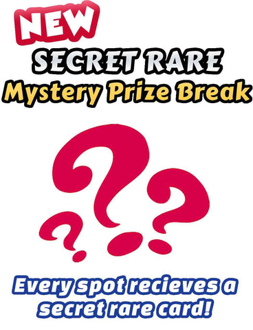 Pokemon Trading Card Game - New SECRET RARE Mystery Prize Break #2 - Every spot receives an ultra rare card!