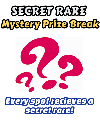 Old Pokemon Trading Card Game - SECRET RARE Mystery Prize Break #5 - Every spot receives an ultra rare card!