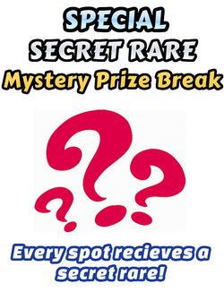 Pokemon Trading Card Game - Special SECRET RARE Mystery Prize Break #1 - Every spot receives an ultra rare card!