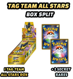 Pokemon Trading Card Game - Tag Team All Stars Box Split + Secret Rares #25