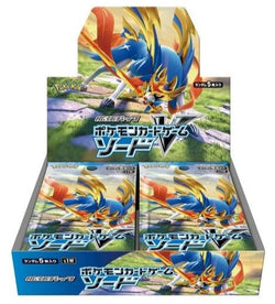 Pokemon Trading Card Game - Sword Base s1W Personal Box Break