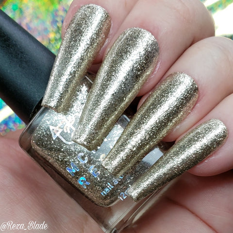 MCKFRESH - The Future of Drag –  Platinum silver flakies and glitter