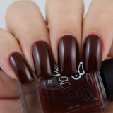 Garnet Wine – a  plain colour, very vampy and rich in colour