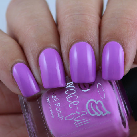 Think We're Alone Now - Pastel Fluro Soft Purple creme