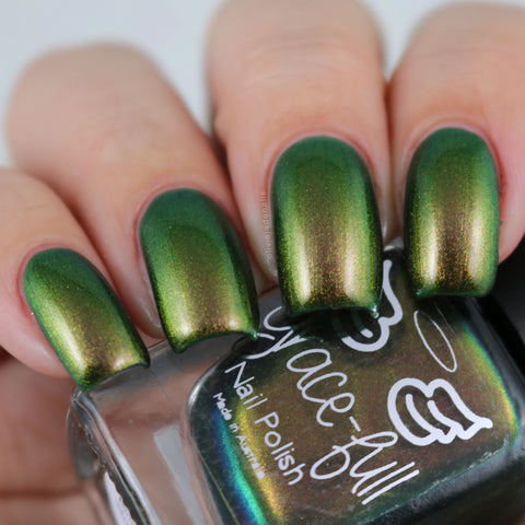 Book of Shadows - green to gold to copper multichrome