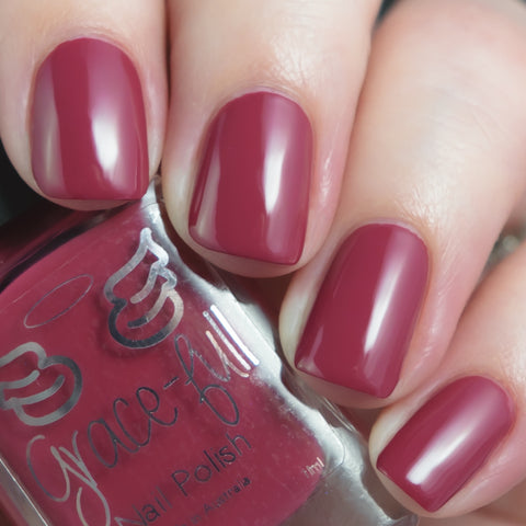 The Berry Best - a berry toned red creme