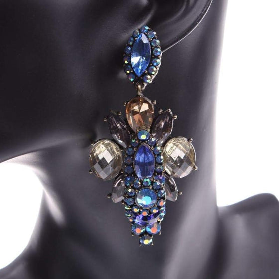 Crystal Classic Chandelier Earrings - SexyBling